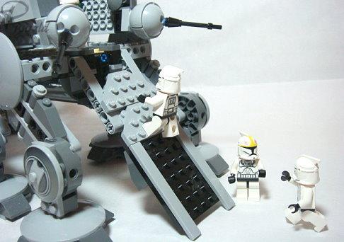 [星戰]10195 Republic Dropship with AT-OT Walker (peter版本)
